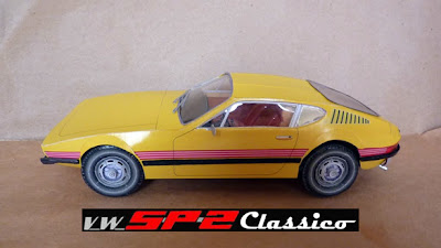 Papermodelo Volkswagen SP2