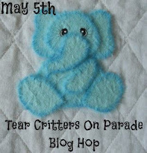 Tear Critter On Parade Blog Hop