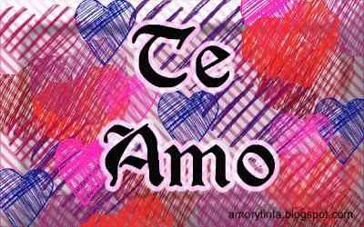 Imagen de amor: Te amo