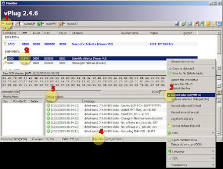 Cara Menggunakan Vplug Buat Rekam EMM Log PowerVu