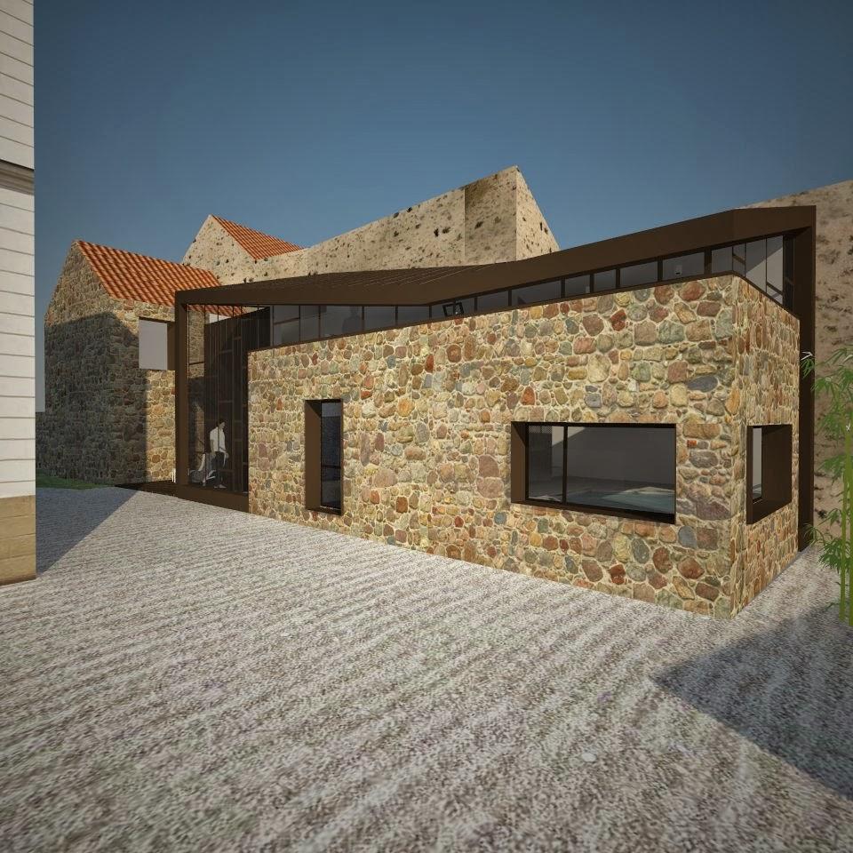 Nim architecture renovation de grange a boissy sous saint yon - Renovation de grange ...