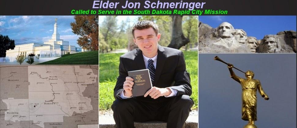 Elder Jon Schneringer