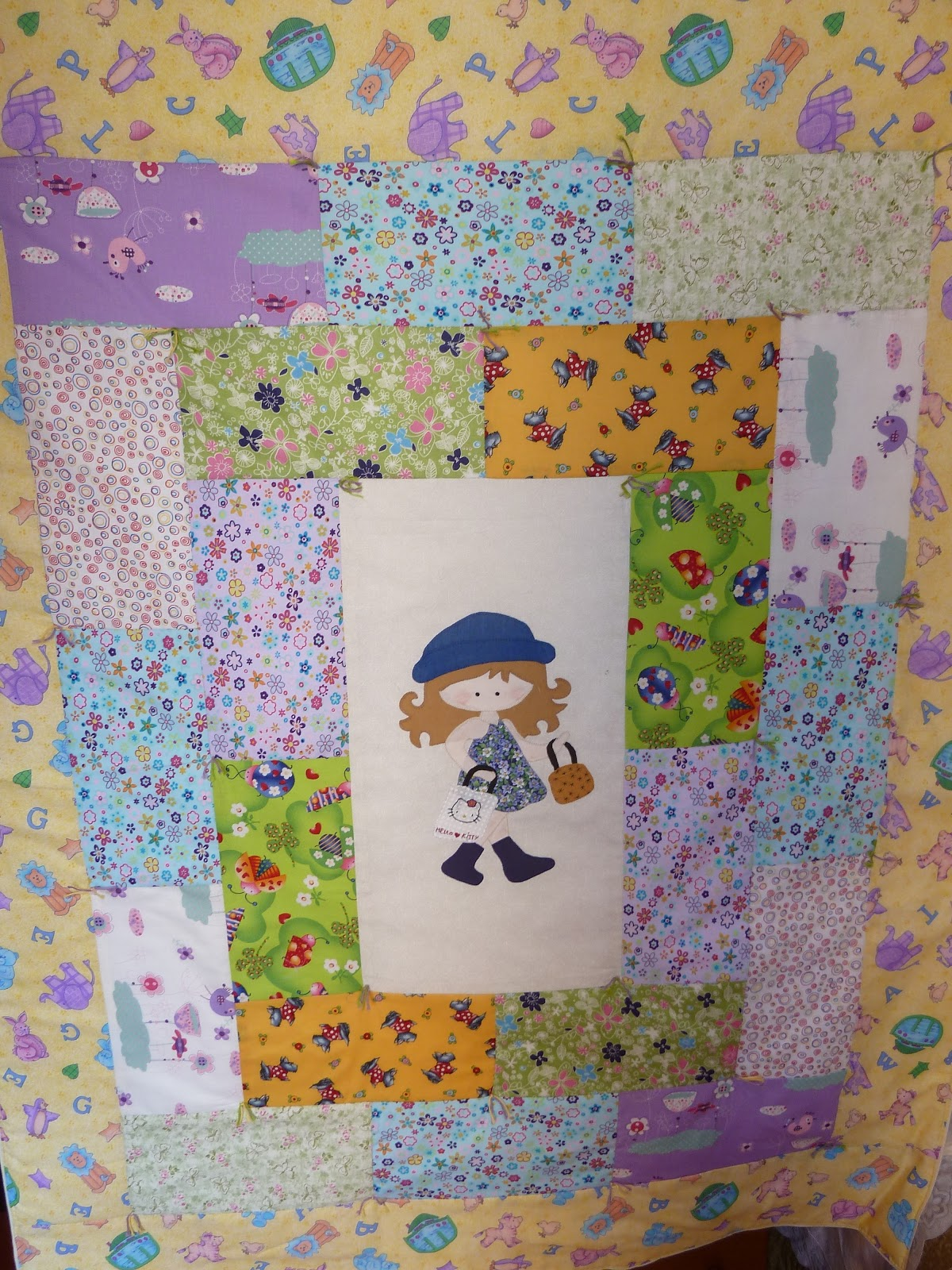 Patchwork maniaca coleccion de colchas infantiles con - Colchas patchwork infantiles ...