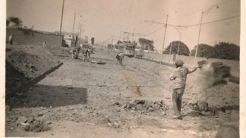 Construcción de pistas y veredas en la Urbanización Tarapacá