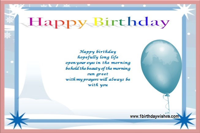 Birthday PoemsFunny Birthday Poems – Birthday Greeting Poems