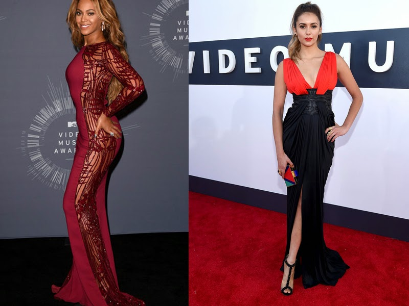 vmas, red carpet,  red carpet fashion, mtv, mtv vmas, best dressed, vmas red carpet photos, video music awards, fashion, fashion blog, womens fashion, beyonce, zuhair murad, nina dobrev, vampire diaries, sasha fierce