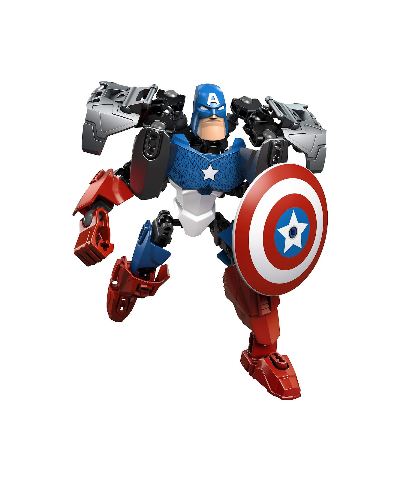 Repubblick set database lego 4597 captain america - Lego capitaine america ...