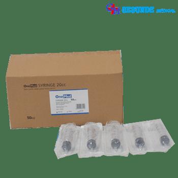 alat suntik atau disposable syringe 20cc