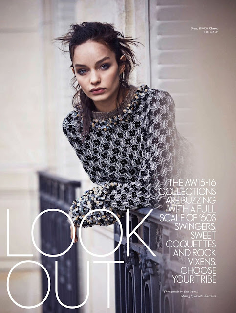 Model @ Luma Grothe - ELLE Australia, September 2015