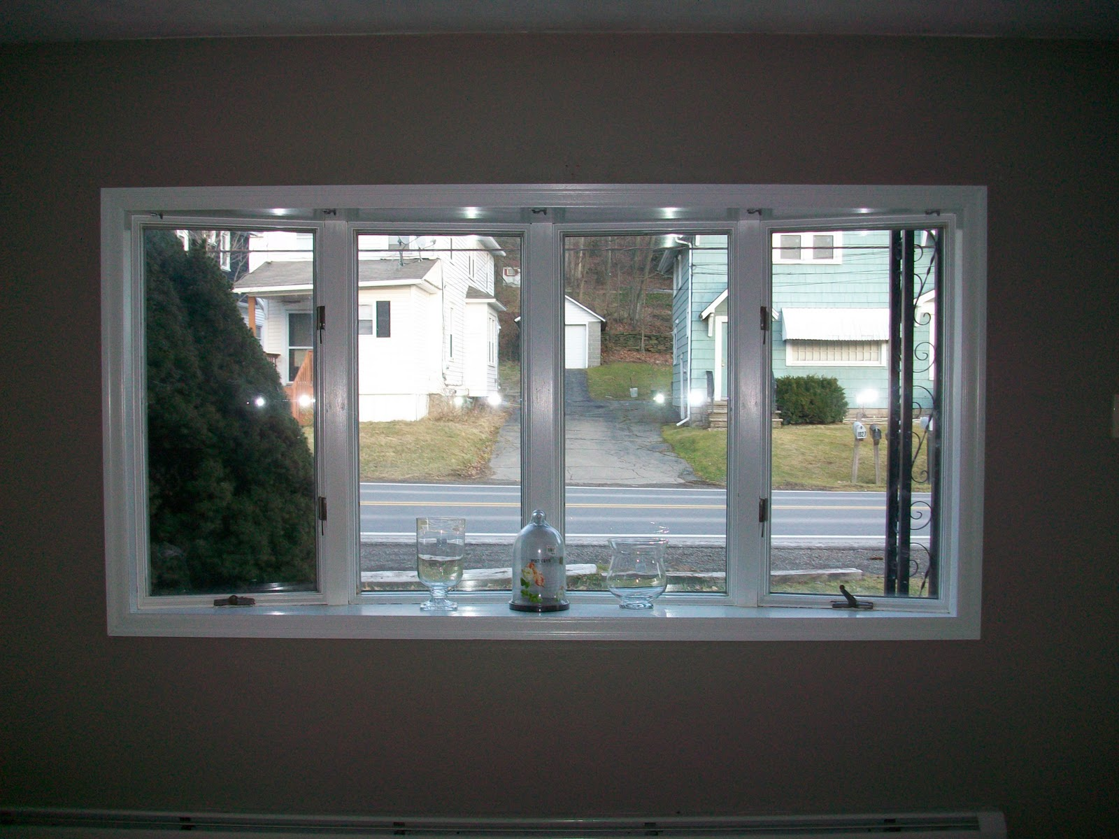 Displaying 20> Images For - Bay Window Curtain Rod Lowes...