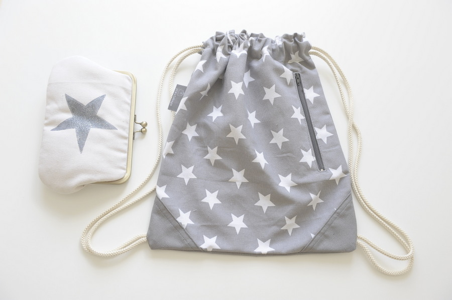 drawstring bag star wallet