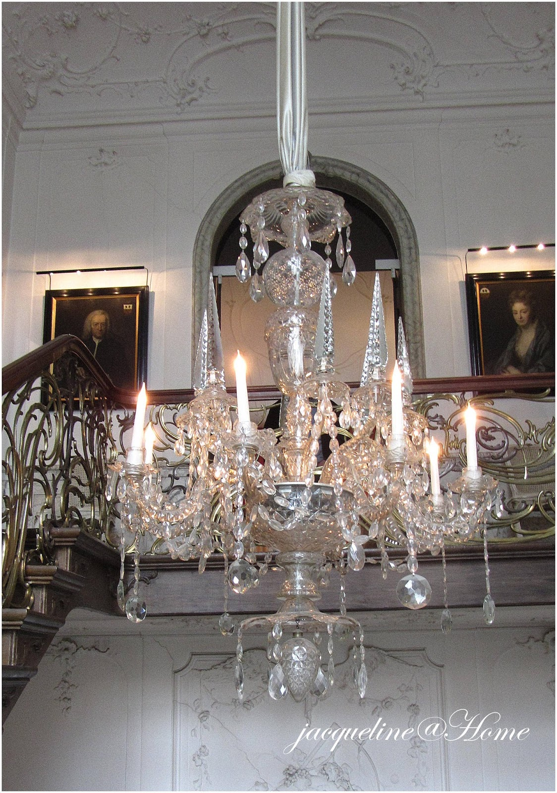 Chandelier In A House Amsterdam
