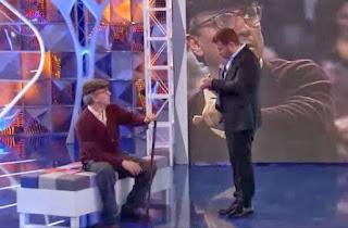 Jorge Javier Vázquez y José Mota en una entrega de 'La hora de José Mota', parodia