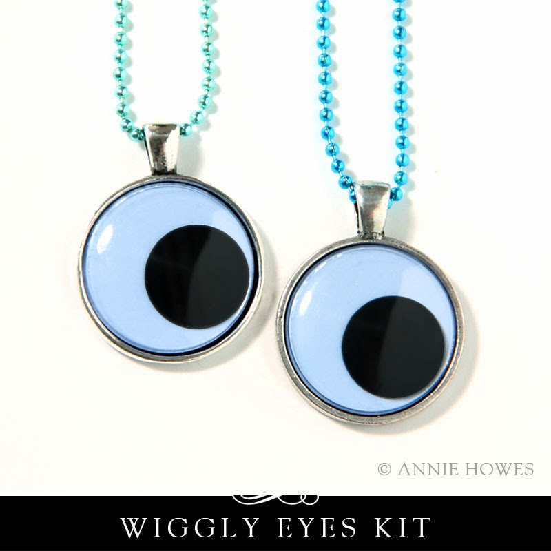 Wiggly Eyes Party Favor Necklaces