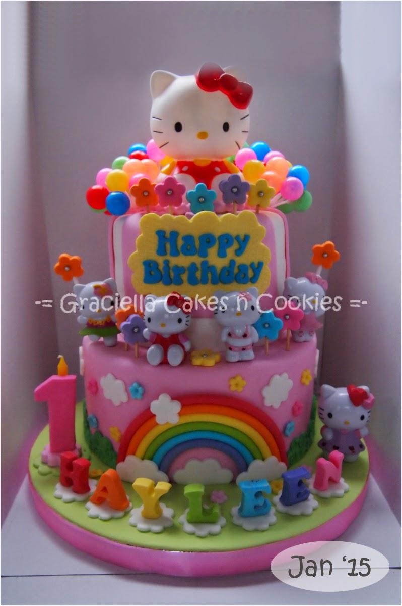Graciella cakes birthday manye cake wedding cupcake cake hello kitty for hayleen dlotus junglespirit Images