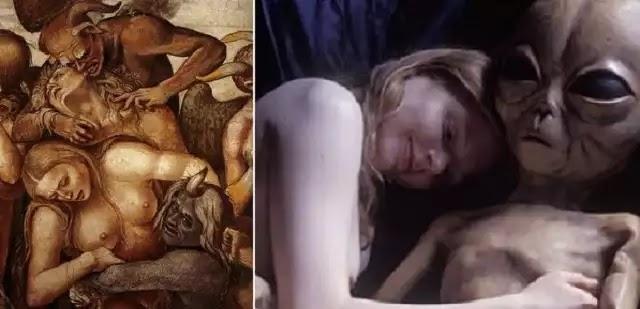 Μελέτη του DNA αποδεικνύει οτι κάποια άγνωστα οντά στην αρχαιότητα ενώθηκαν με γυναικες ανθρώπων!