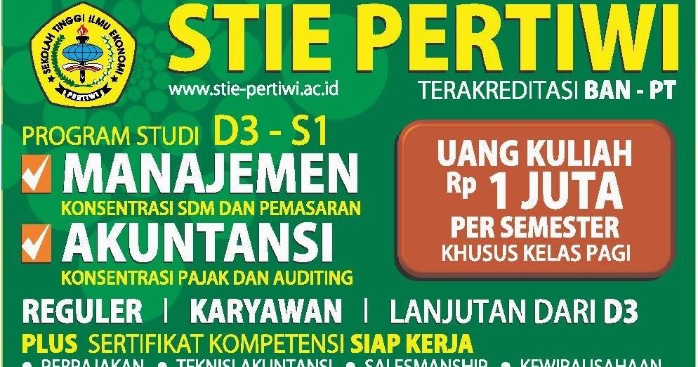 Stie Pertiwi Kuliah Manajemen Dan Akuntansi Download Lengkap