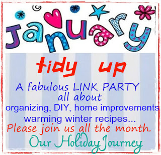 January Tidy Up Linky Party