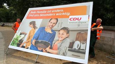 Elections Allemagne CDU - la droite
