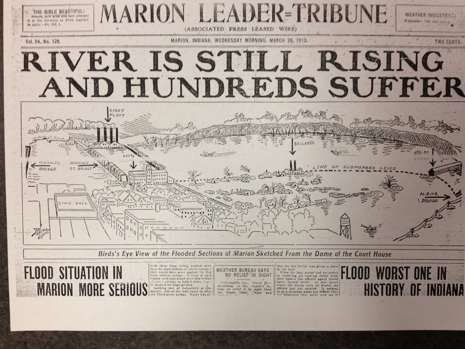 the marion flood of 1913