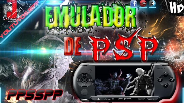 EMULADOR DE PSP PARA PC FULL ESPAÑOL | 2015