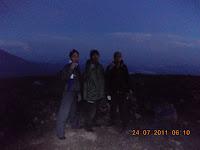 Gunung Merapi Sumbar
