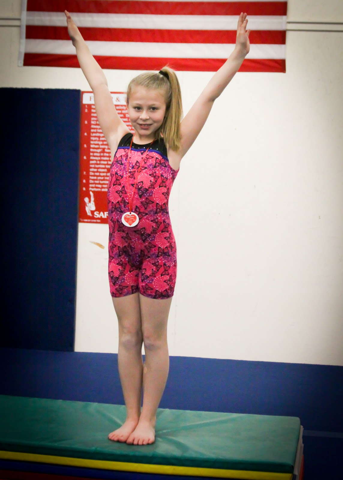 Jaedyn's GymTricks Gymnastics Performance