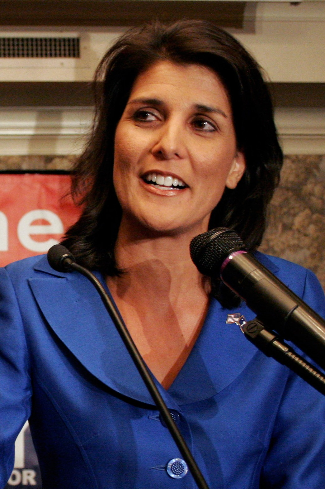 Libertarian Republican: SC Gov. NIKKI HALEY shows her cards at ...