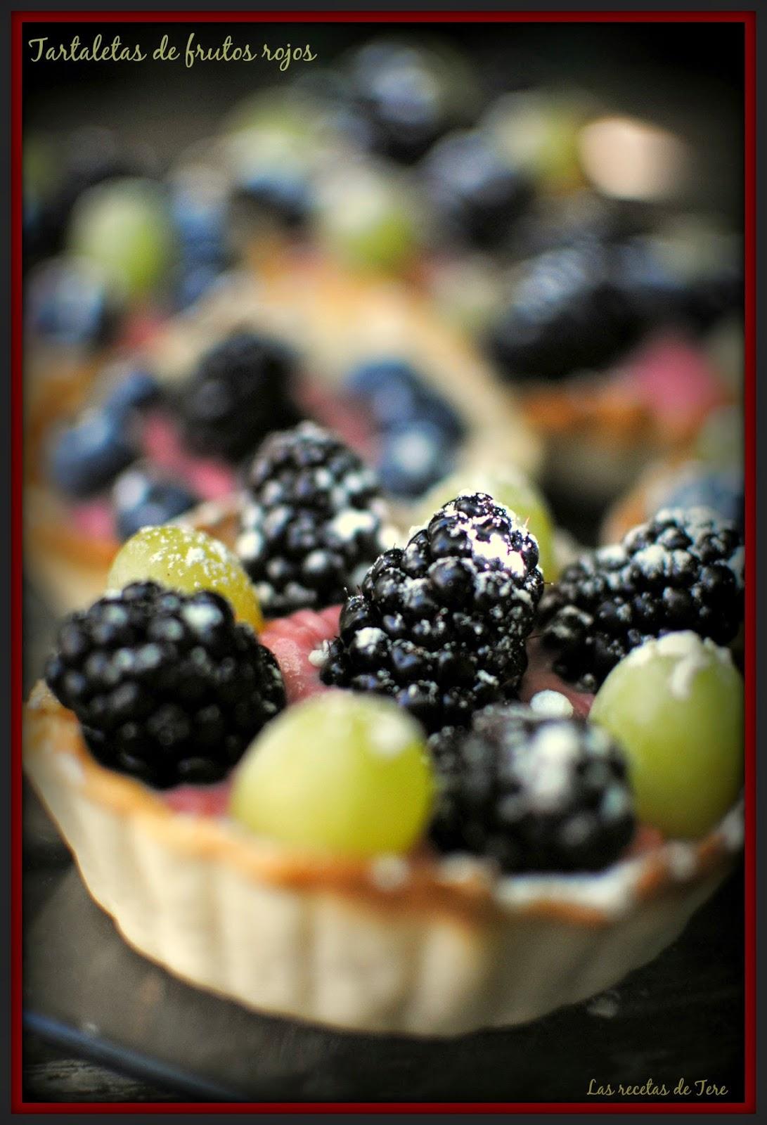 Tartaletas de frutos rojos las recetas de tere 05