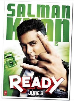Salman Khan. READY.