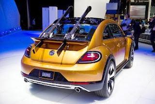 Volkswagen Beetle Dune rearview