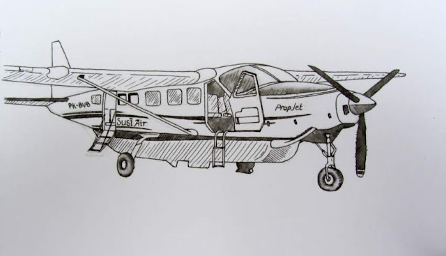Susi Air airplane