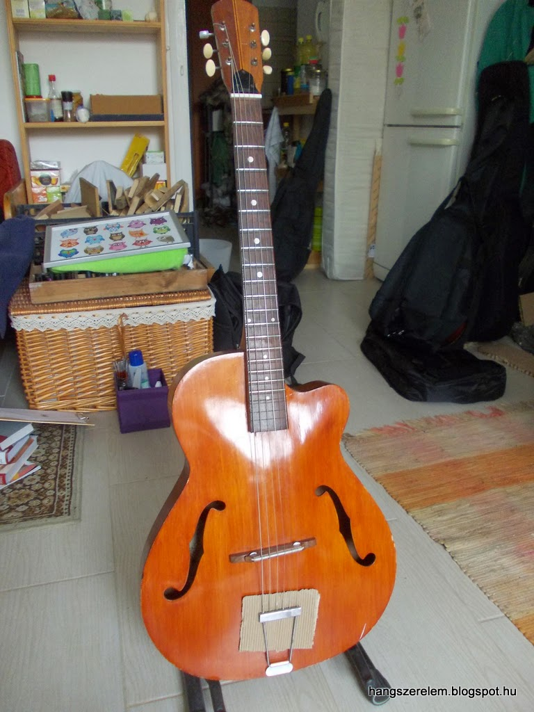 EKO acoustic jazz guitar