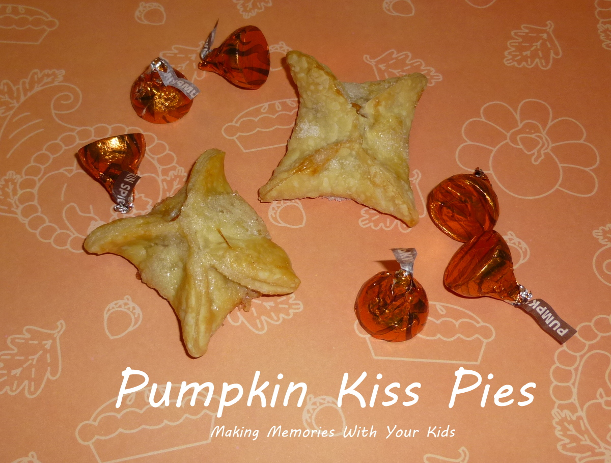 Pumpkin Kiss Pies - Making Memories With Your Kids
