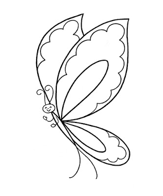butterfly coloring pages free and printable