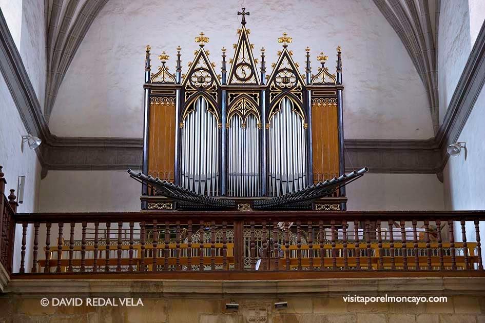 Organo de la Basílica de la Virgen de los Milagros de Agreda Iglesia