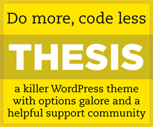 Thesis Premium Wordpress Theme Free Download