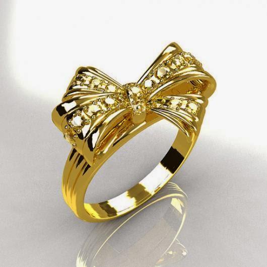 6 تصاميم خواتم ذهب جديدة