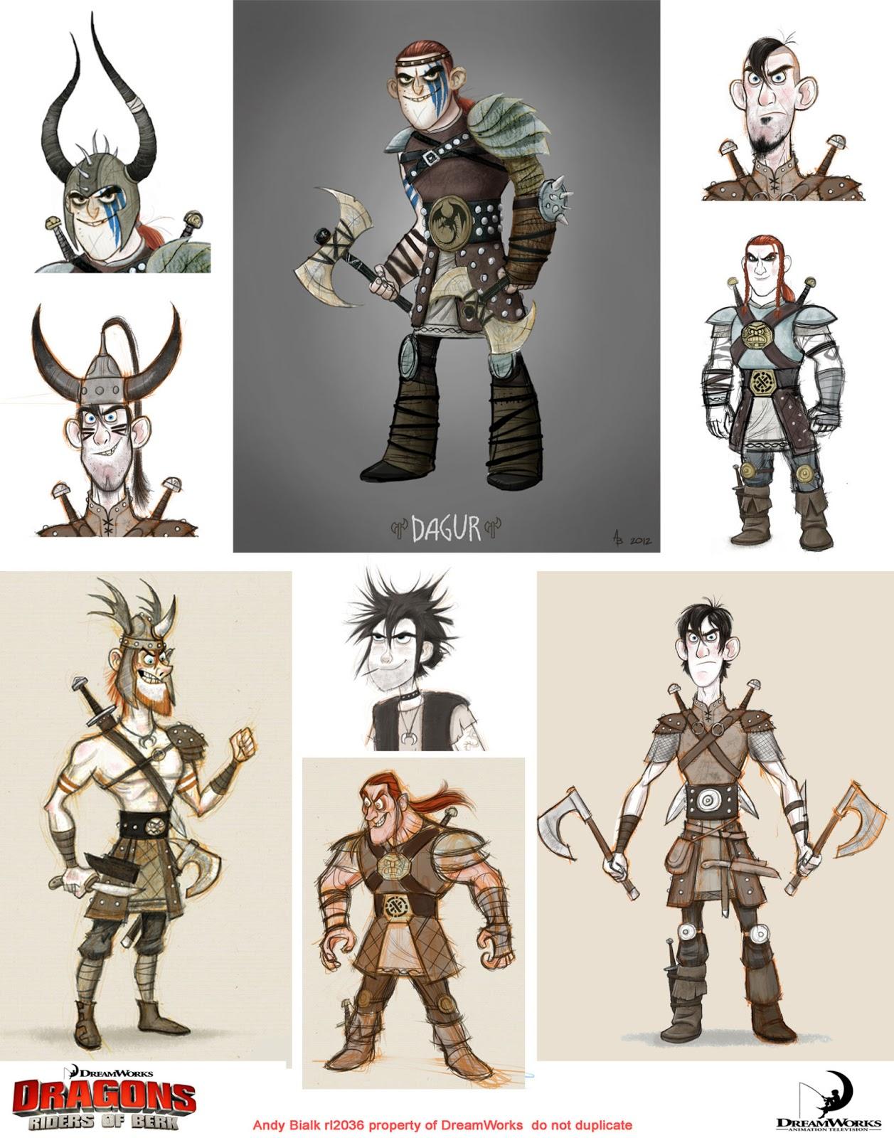 Character Design Dreamworks : Dreamworks quot dragons riders of berk
