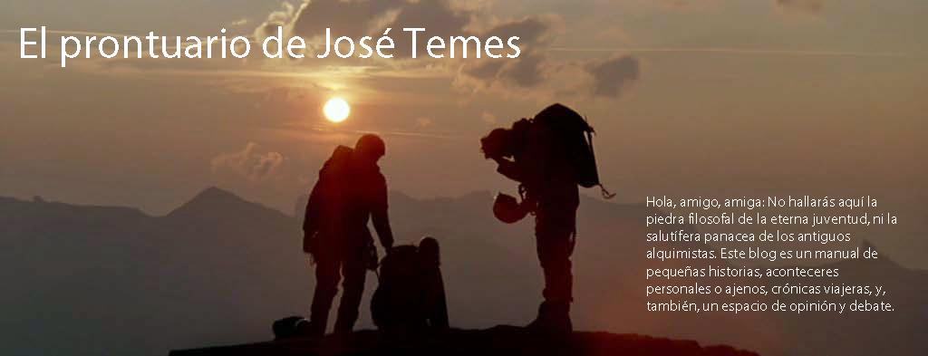 El prontuario de José Temes
