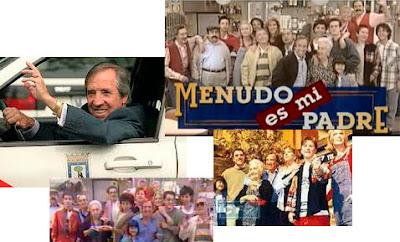 Imágenes de la serie de Antena 3 Menudo es mi padre, 1996