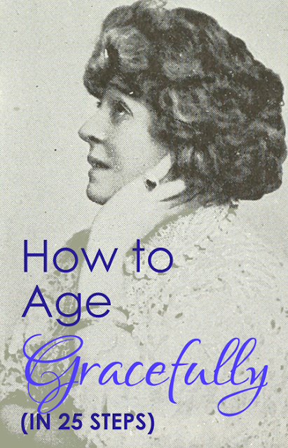 How to Age Gracefully :: Crappy Candle