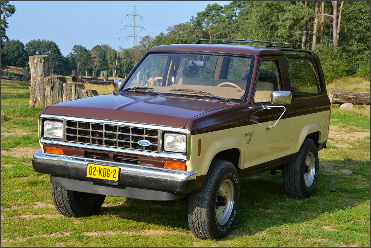 Ford Bronco Ii 28 V6 4x4 1984 Stuurman Classic And Special Cars
