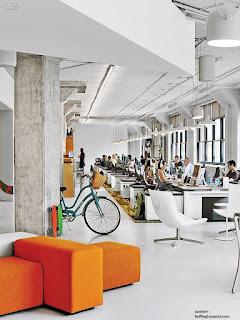 Desain Kantor dengan Rasa Rumah Sendiri