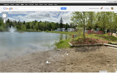 Google Streetview tour of Bare Oaks Family Naturist Park