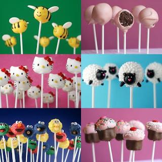 ���� ����� ����� ���� ������ bakerella-cake-pops.
