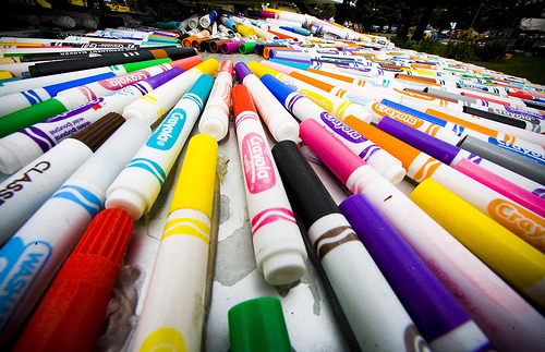 how to take apart an expo marker