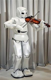 Gambar Robot pemain biola