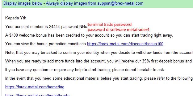 A forex 62 email