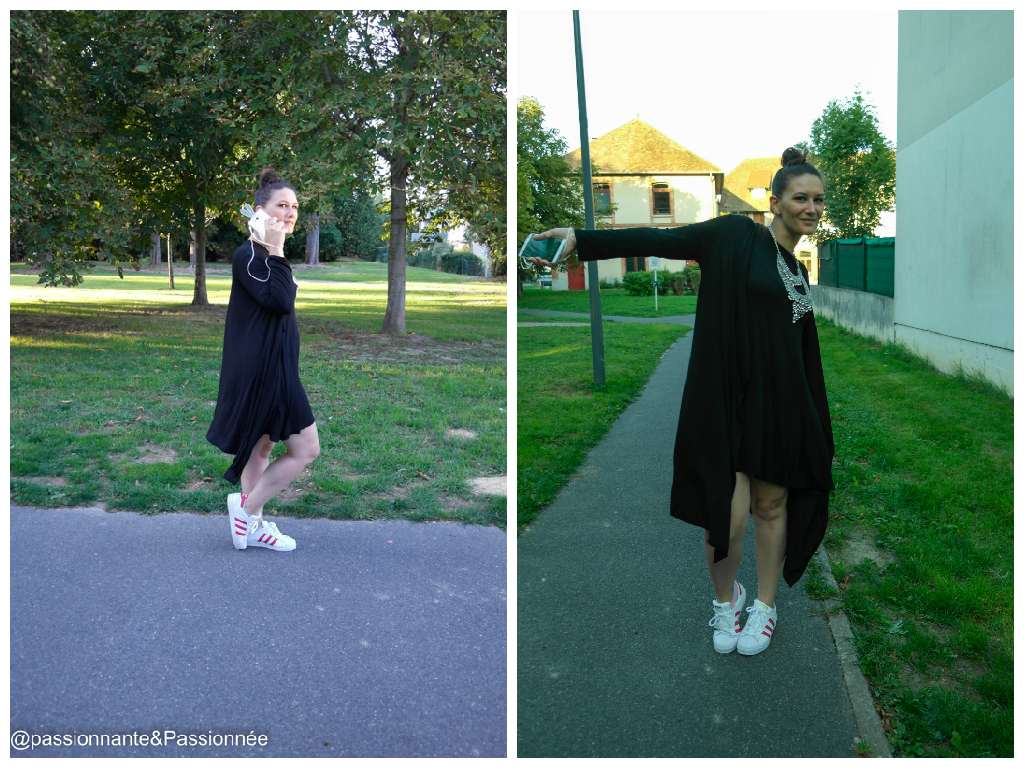 look casual fille ronde